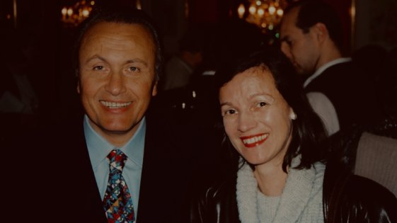Angelo Gaja und Constance Heuberger