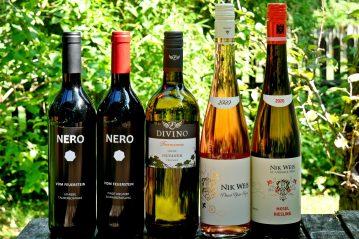 Degustation Weinverkostung